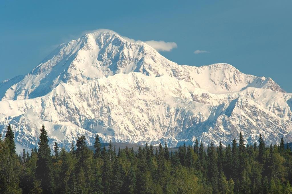 View of Mt. McKinley 'Denali' from Petersville Rd