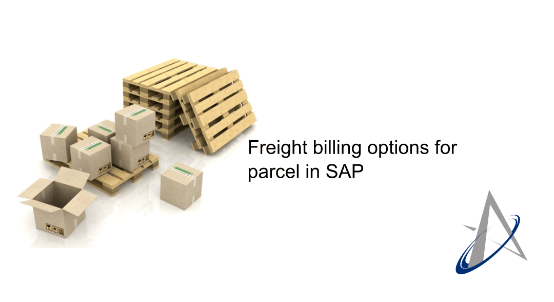 Freight billing options for parcel in SAP