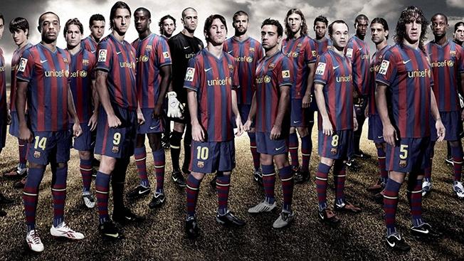 FC Barcelona, Social Reach: 116,168,676
