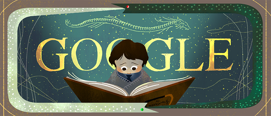 Neverending Story Google Doodle (GalleyCat)