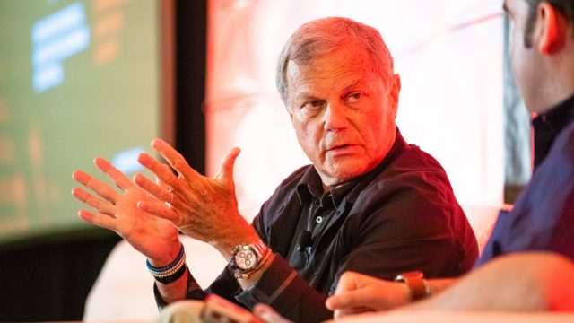 Martin Sorrell's shopping spree started in 1986.