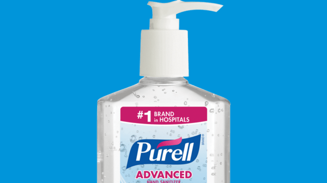 People Are Swooping Up Purell as Soon as the Hand Sanitizer Hits the Shelves