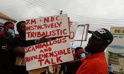 "Uproar in Akyem Abuakwa State over ""ethnocentric"" Mahama comments 15"