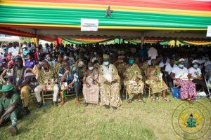 President Akufo-Addo cuts sod for $116m Enchi-Elubo road 6