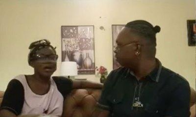 Video: Mzbel and Nana Tornado kiss on live video 6