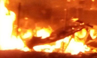 Fire ravages warehouse in Kaase in Ashanti Region 2