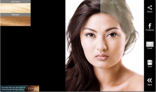 Cara Mengubah Warna Rambut di Android