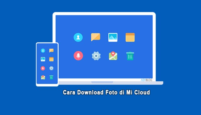 Cara Download Foto di Mi Cloud