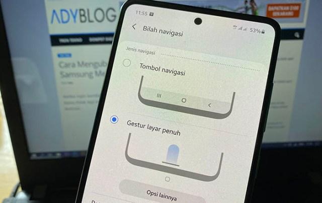 Cara Mengubah Tombol Navigasi di HP Samsung