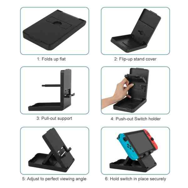 nintendo switch play stand playstand console holder bracket