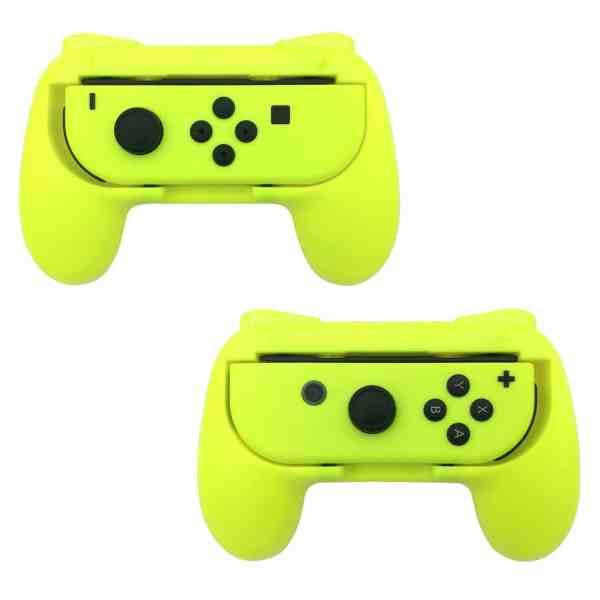 tns-851b dobe yellow joy-con grips handles for nintendo switch 2 pack