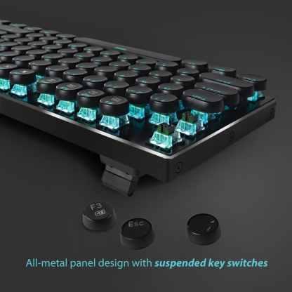 redragon k556 RGB-RK devarjas retro mechanical gaming keyboard