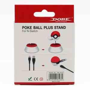 dobe TNS-18123 pokemon pokeball charge stand usb cable plus