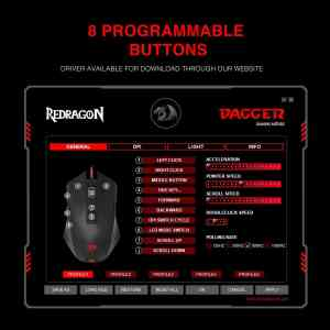 redragon m715 dagger rgb gaming mouse software