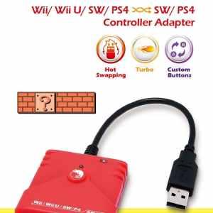 Brook Wii Wii u Nintendo Switch PS4 Super Converter Contoller Adapter