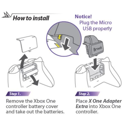 Brook X ONE Adapter Extra How to Install