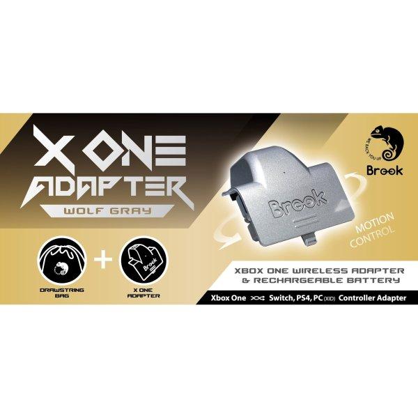 Brook X ONE Adapter Ltd Ed Wolf Grey