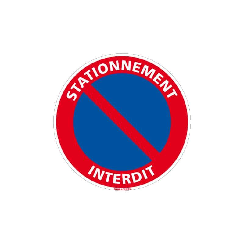 Panneau Signalisation Obligatoire Stationnement Interdit