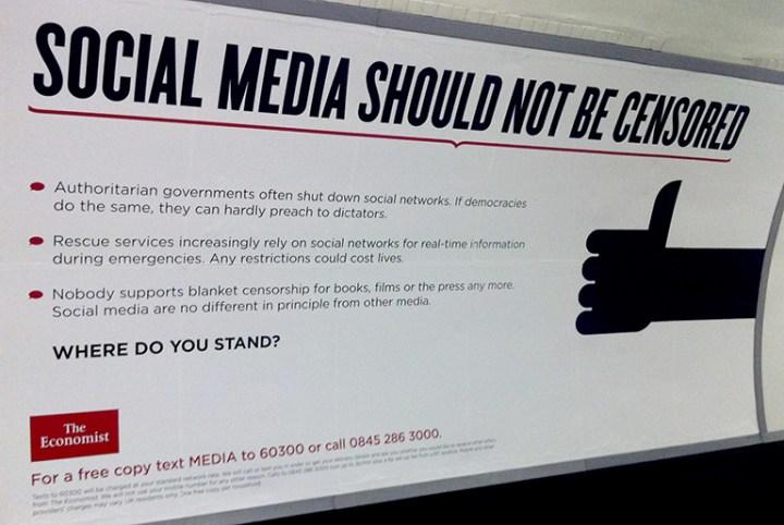 social media should not be censored billboard 768