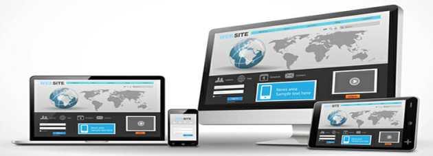 su web con diseño adaptado a todas las plataformas: ordenadores, tablets y smartphones