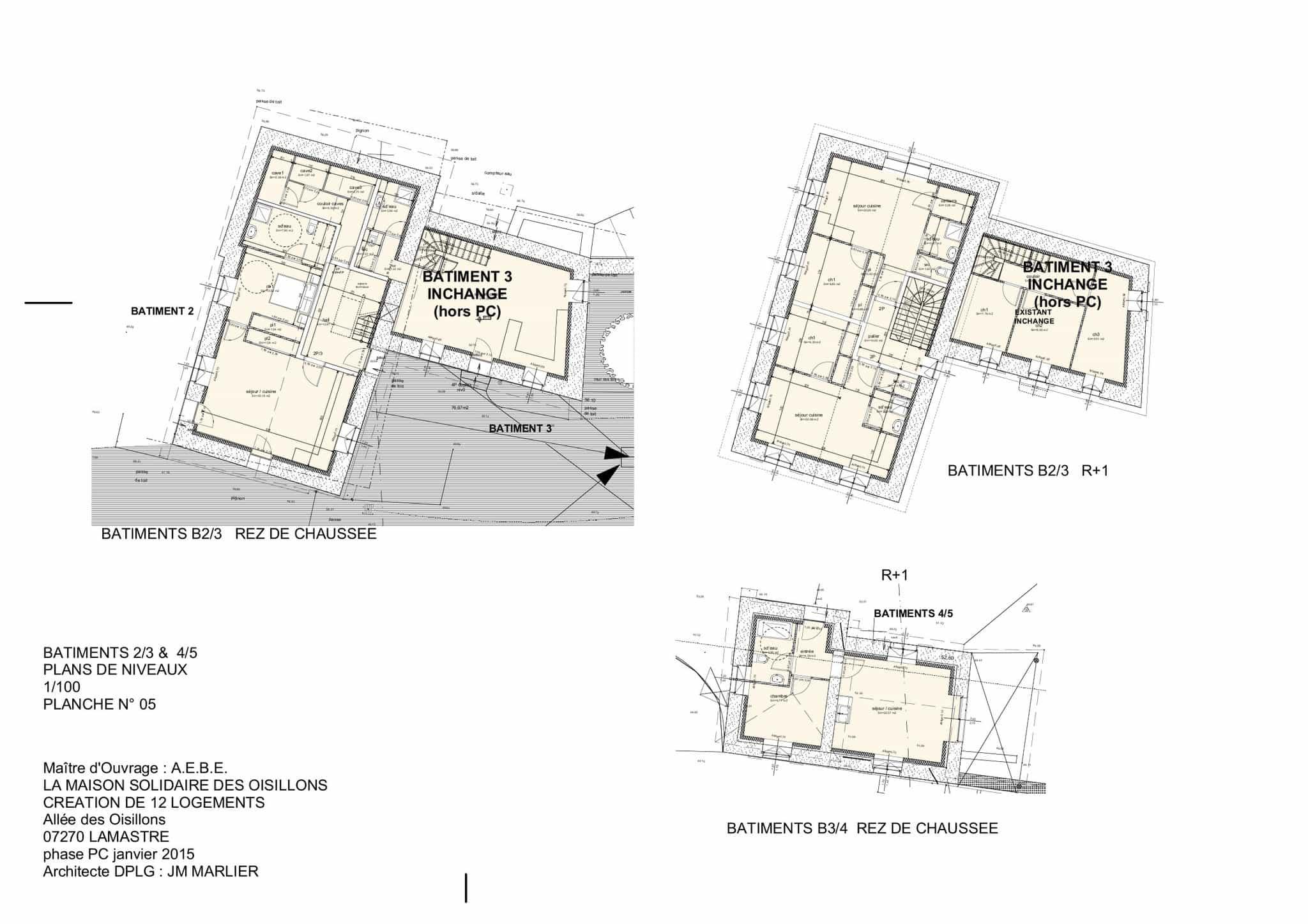 Bâtiments 2-3