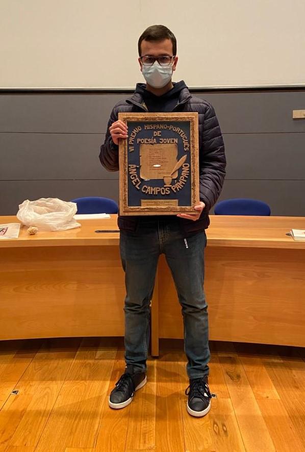 Aluno recebe prémio de Concurso Internacional
