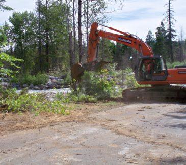 Hood River Bridge Replacement - Beginning Fish Habitat Restoration