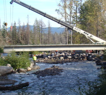 Hood River Bridge Replacement - Setting Our Bridge in Place