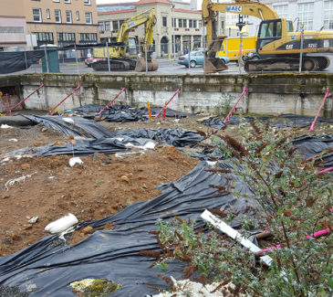 Astoria Heritage Square Soil Removal - Existing Conditions