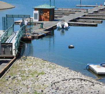 Seven Bays Marina Fuel Repairs - Existing Conditions