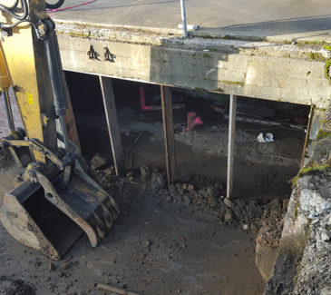 Astoria Heritage Square Soil Removal - Sub Surface Access
