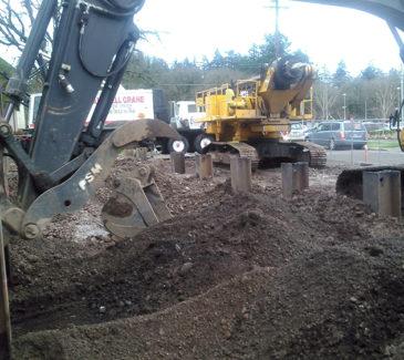 Salem Hospital System Upgrades - Beginning Tank Housing