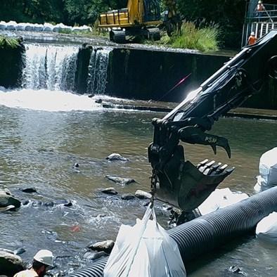 Trask River Dam Removal