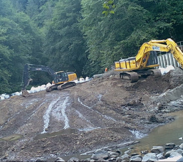 Trask Dam Removal - Final Pieces to Remove