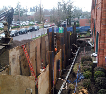 Salem Hospital System Upgrades - Final Touches on Tank Housing