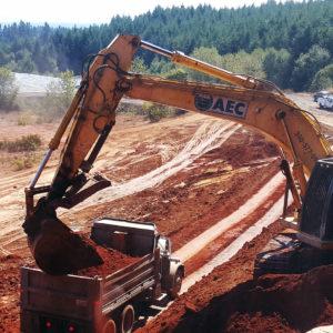 AEC Excavator