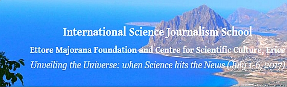 Becas 2017 para el curso de verano de la Erice International School of Science Journalism