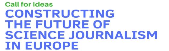 WFSJ Call for Ideas data ESOF2018 2