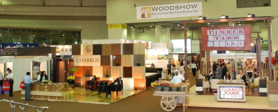 Dubai Wood and Wood Machinery Show 2011 challenge - strengthening the