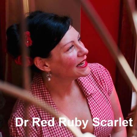 Dr Red Ruby Scarlet