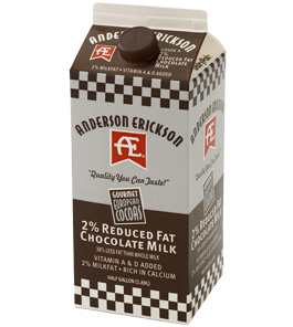 2% Reduced Fat Chocolate Milk Nutrition