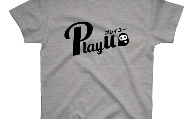 プレイユー ロゴ グラフィックTシャツ