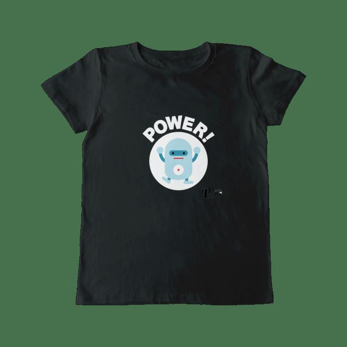 ロボティ パワー グラフィックTシャツ レディス