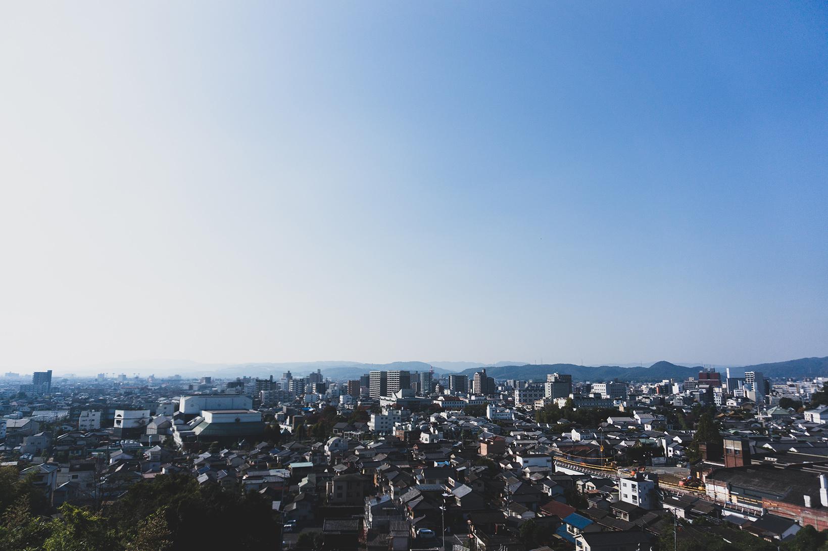 岡山県倉敷市の市街地