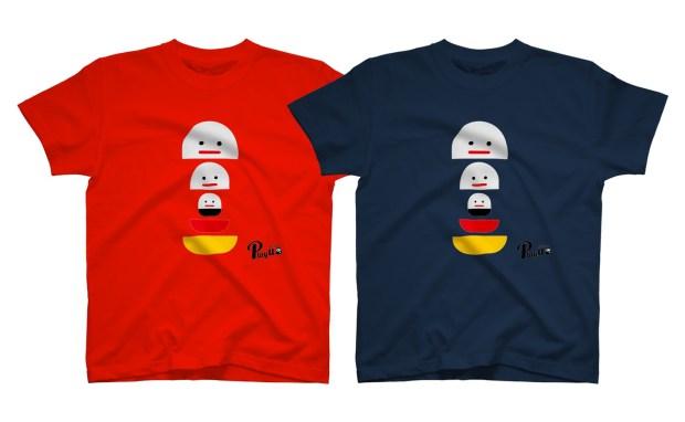 カプセルズ プレイユー グラフィックTシャツ