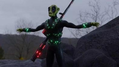 Alien Warrior (Realistic lighting)