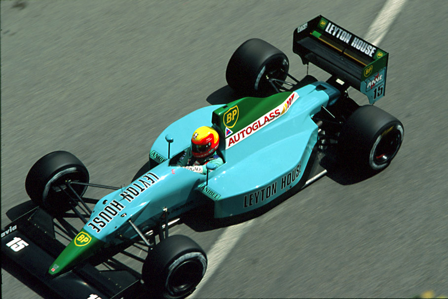 Image result for 1990 leyton house