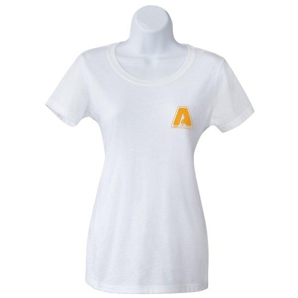 AEI Fabrication New Shiner Womens T-Shirt In White