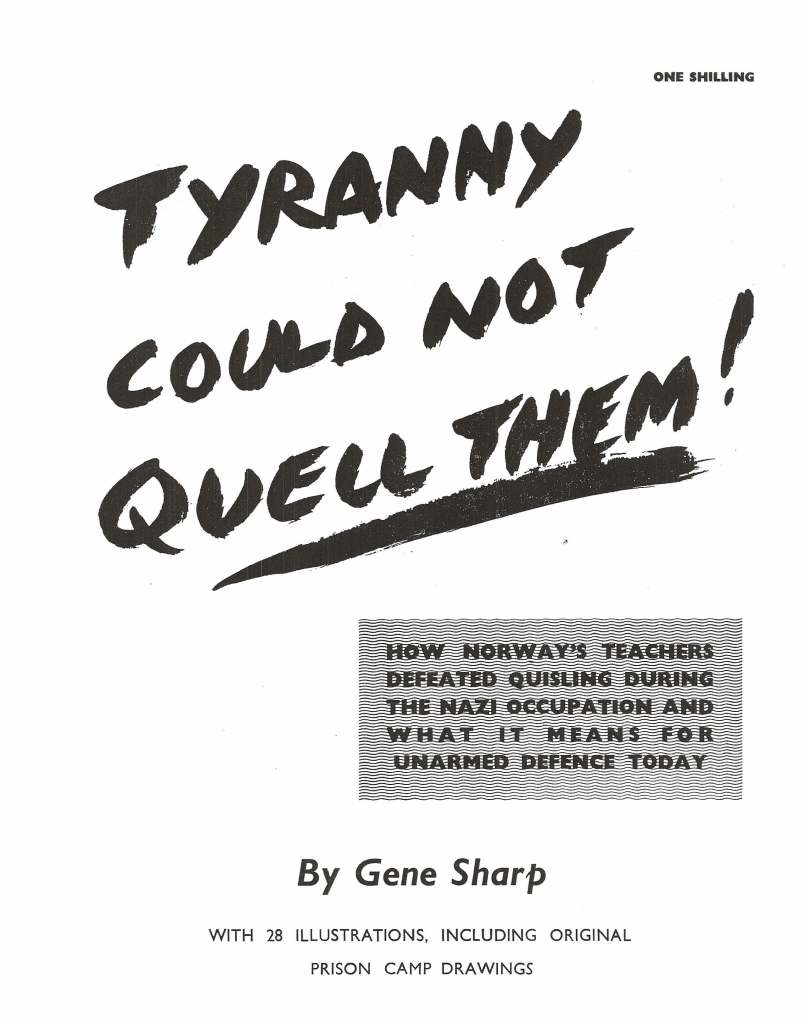 Tyranny Could Not Quell Them!