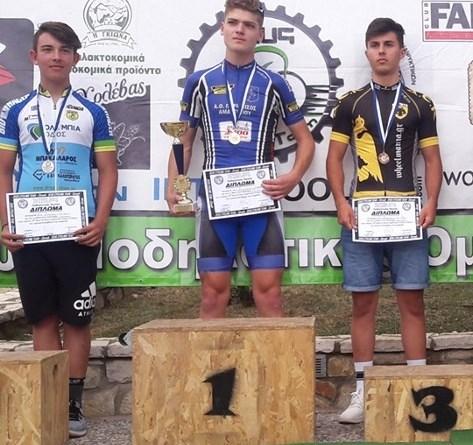 Ο Ιβάν Μαυροθαλασσίτης κατέκτησε την 3η θέση στην κατηγορία Παίδων